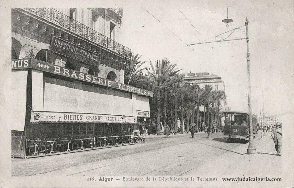 Alger boulevard de la republique brasserie le terminus 1