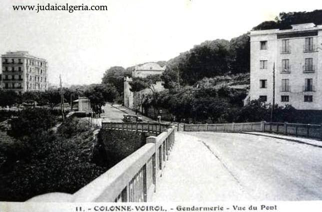 Alger colonne voirol le pont d hydra