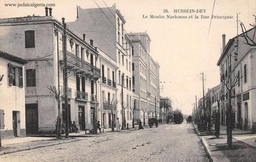 Alger hussein dey la rue principale