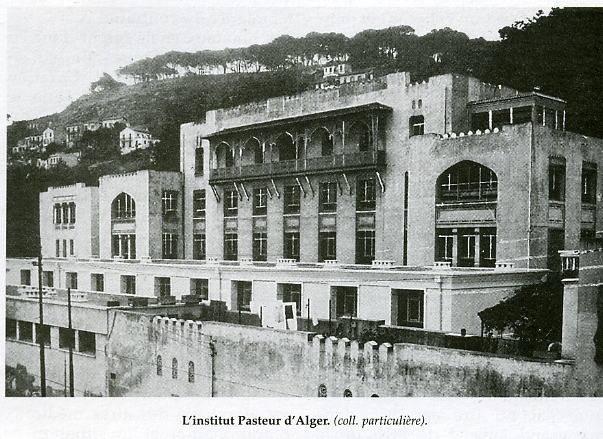 Alger institut pasteur