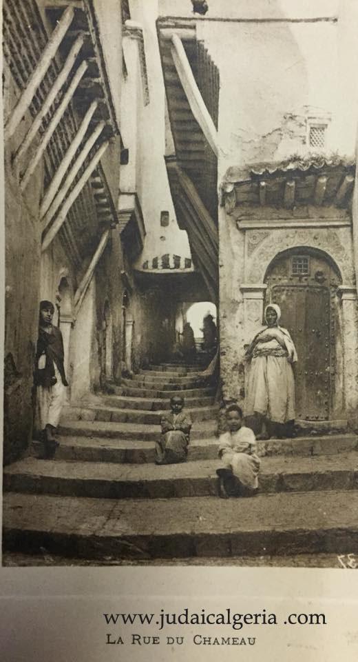 Alger la rue du chameau