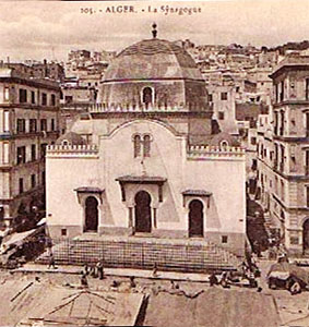 Alger la synagogue