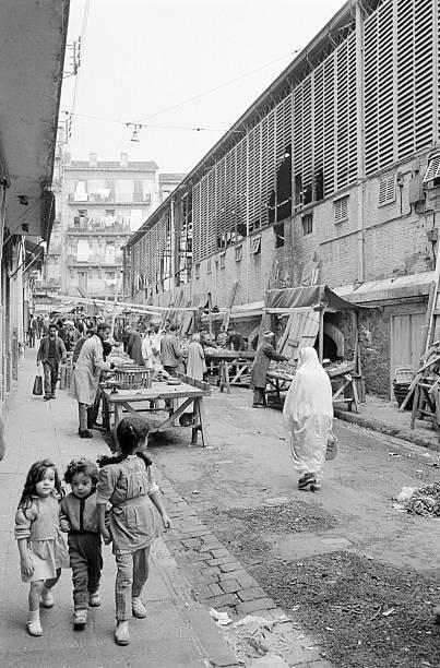 Alger le marche de bab el oued 1962