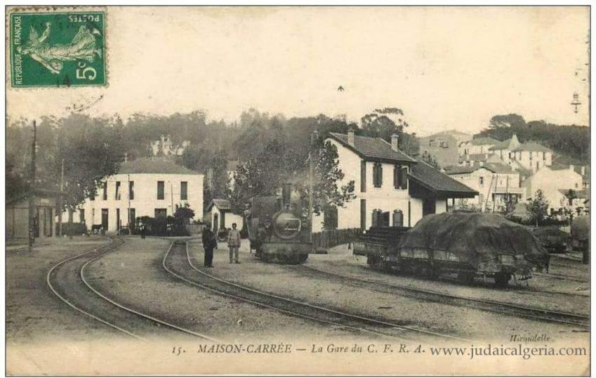 Alger maiosn carree la gare du cfra