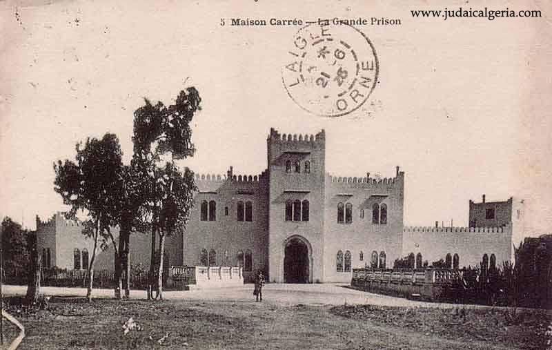 Alger maison carree la grande prison