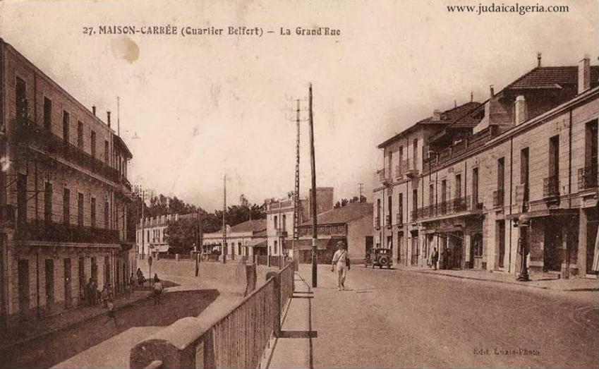 Alger maison carree la grande rue