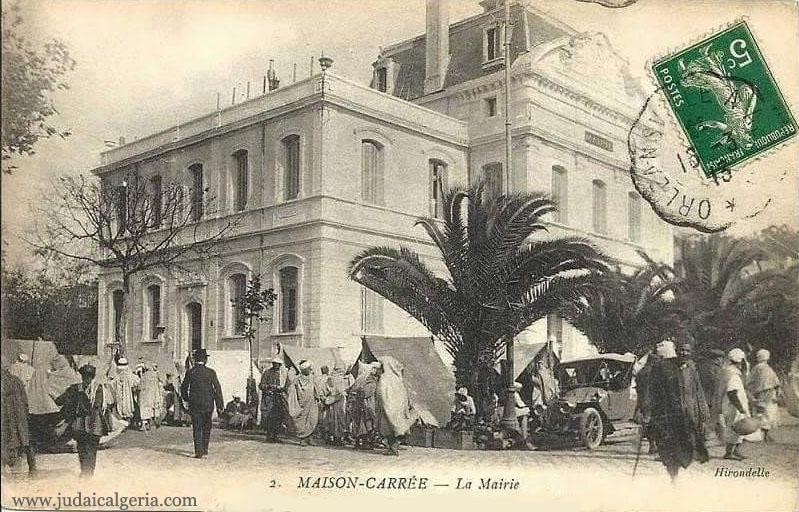 Alger maison carree la mairie