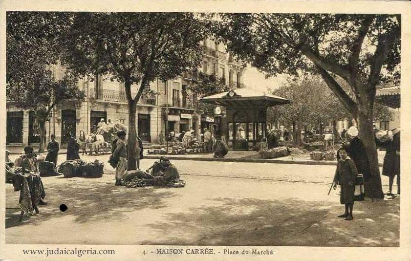 Alger maison carree place du marche