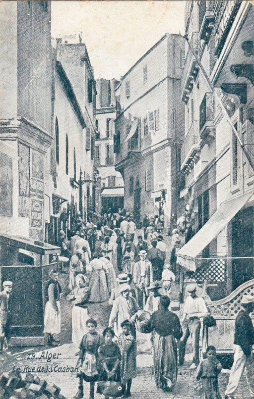 Alger rue de la casbah