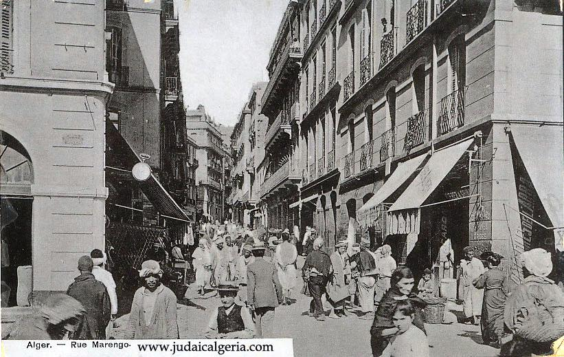 Alger rue marengo tres animee