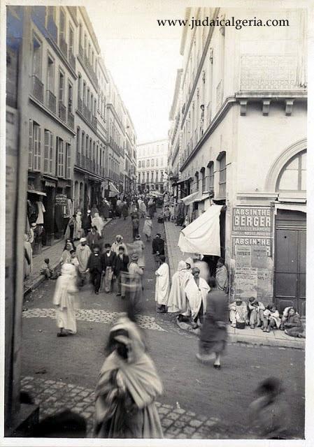 Alger rue randon 1920