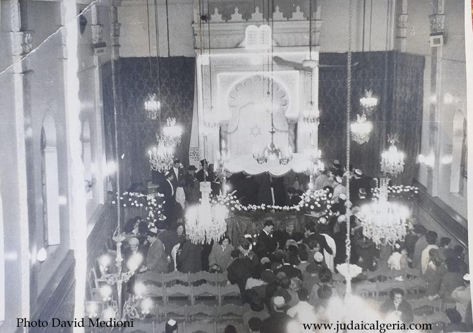 Alger synagogue de la rue de dijon interieur