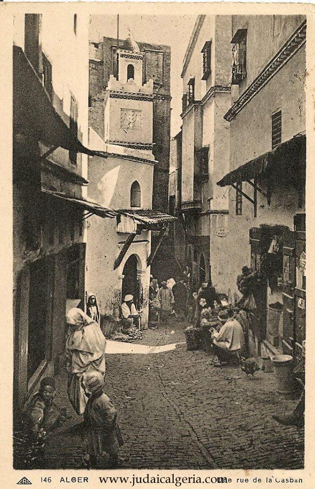 Alger une rue de la casbah 2