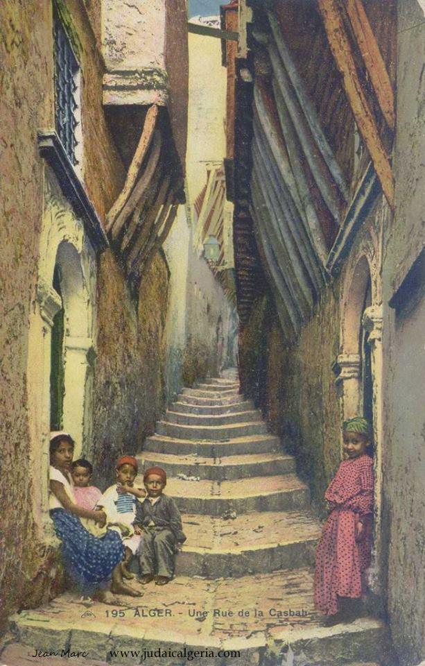 Alger une rue de la casbah 3