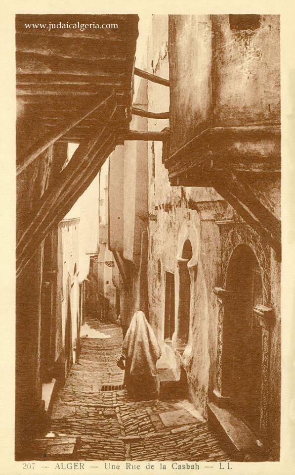 Alger une rue de la casbah 4