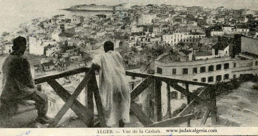 Alger vue de la casbah