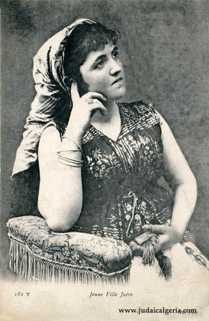 Algerie jeune fille juive