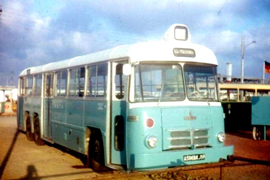 Autobus rsta foire d alger 1966