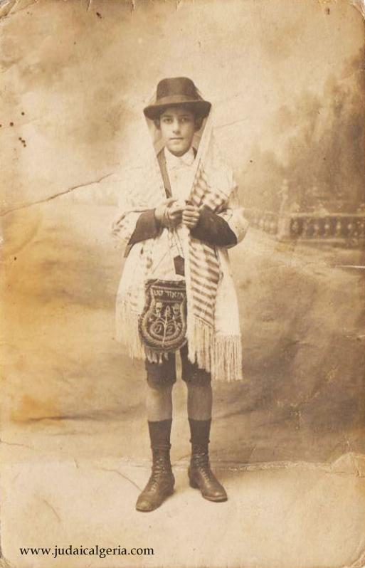 Bar mitzva tlemcen 1911