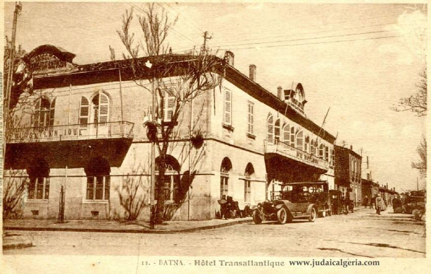 Batna hotel transatlantique