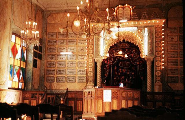 Bejaia interieur de la synagogue