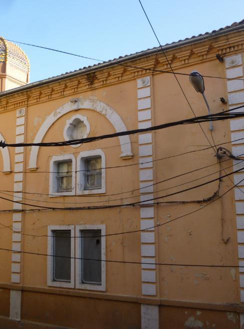 Bejaia les restes de la synagogue