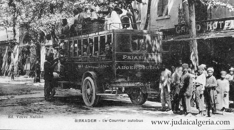 Birkadem le courrier autobus
