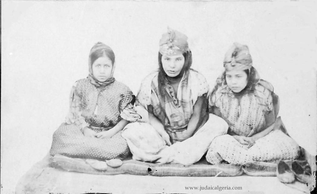 Biskra trois femmes juives 1893