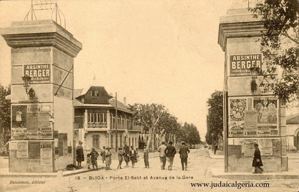 Blida porte sebt et avenue de la gare