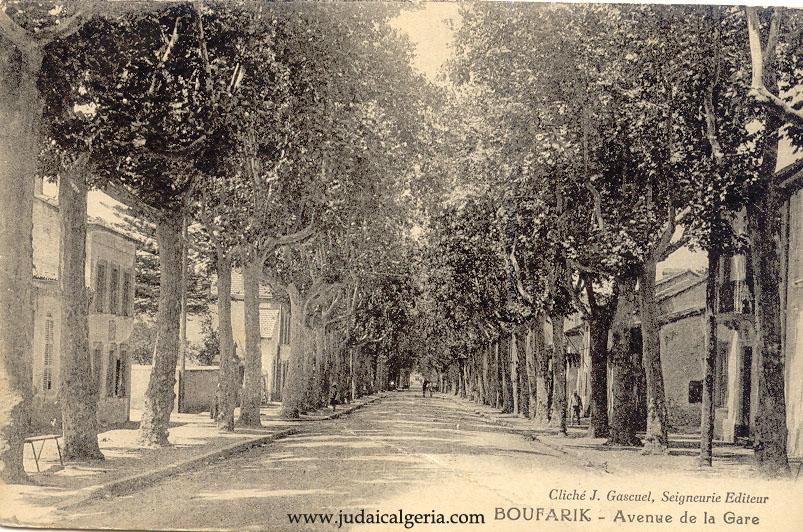 Boufarik avenue de la gare