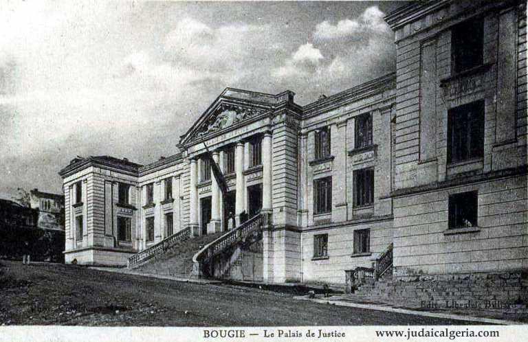 Bougie le palais de justice