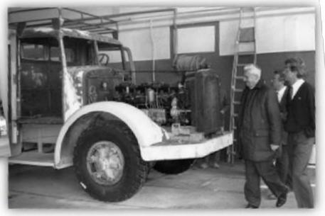 Camion berliet gdm10w