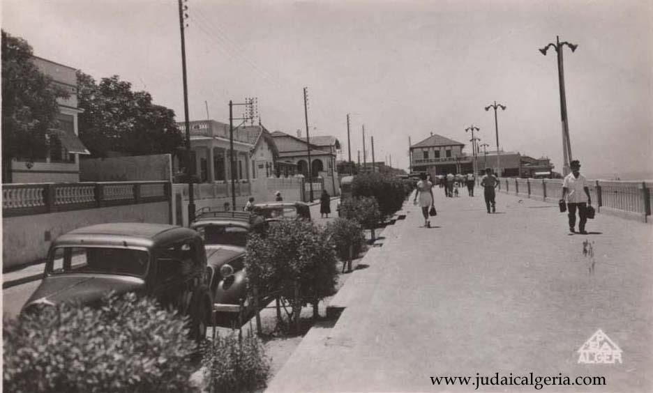 Castiglione boulevard de la plage 1950