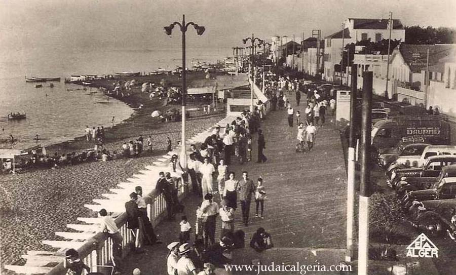 Castiglione boulevard de la plage 1955