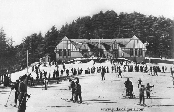 Chrea sommet des pistes de ski et le ski club 1