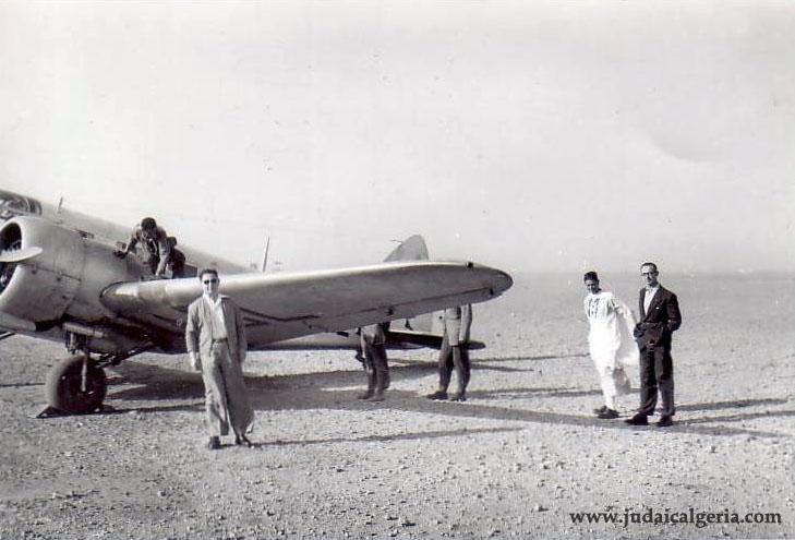 Colomb bechar avion 1955