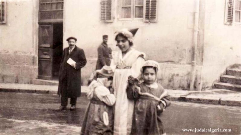 Constantine enfants juifs en 1924