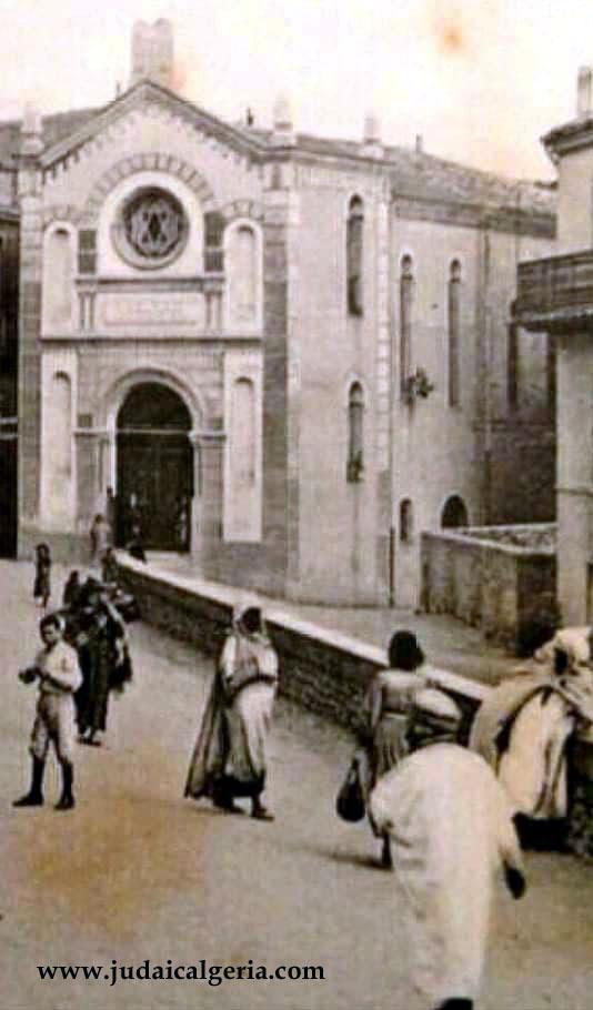 Constantine la synagogue dit temple algerois