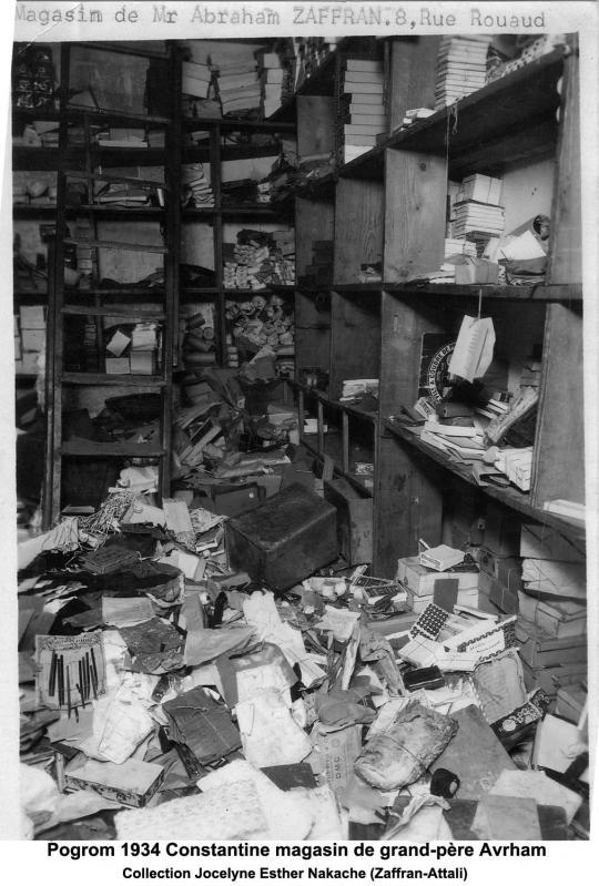 Constantine pogrom 1934 3
