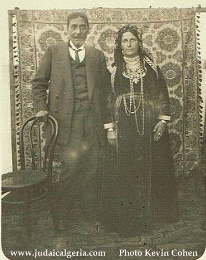 Couple benghozi tlemcen 1902 ph kevin cohen