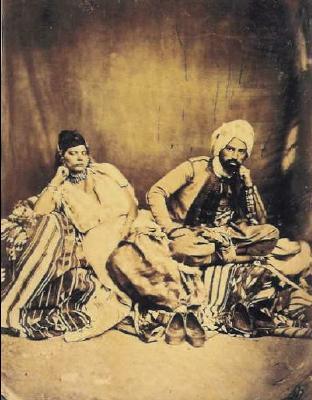 Couple juif a constantine circa 1856 1858