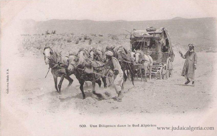 Diligence dans le sud algerien
