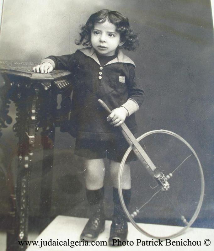 Enfant juif de tlemcen annees 1900 patrick benichou copy