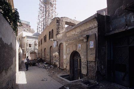 Facade de la synagogue de moise maimonide
