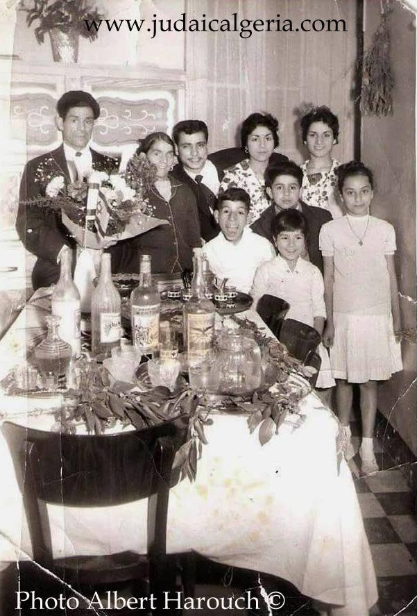Famille harouch oran mimouna 1954