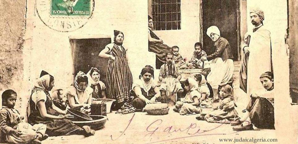 Famille juive d algerie debut xx siecle