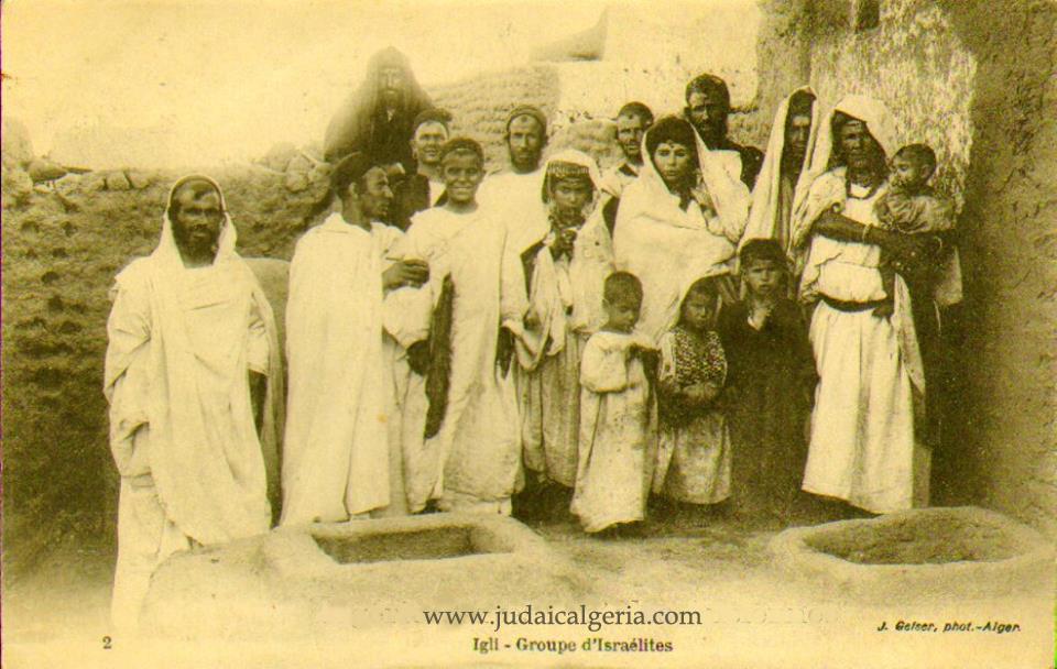 Famille juive de colon bechard 1900