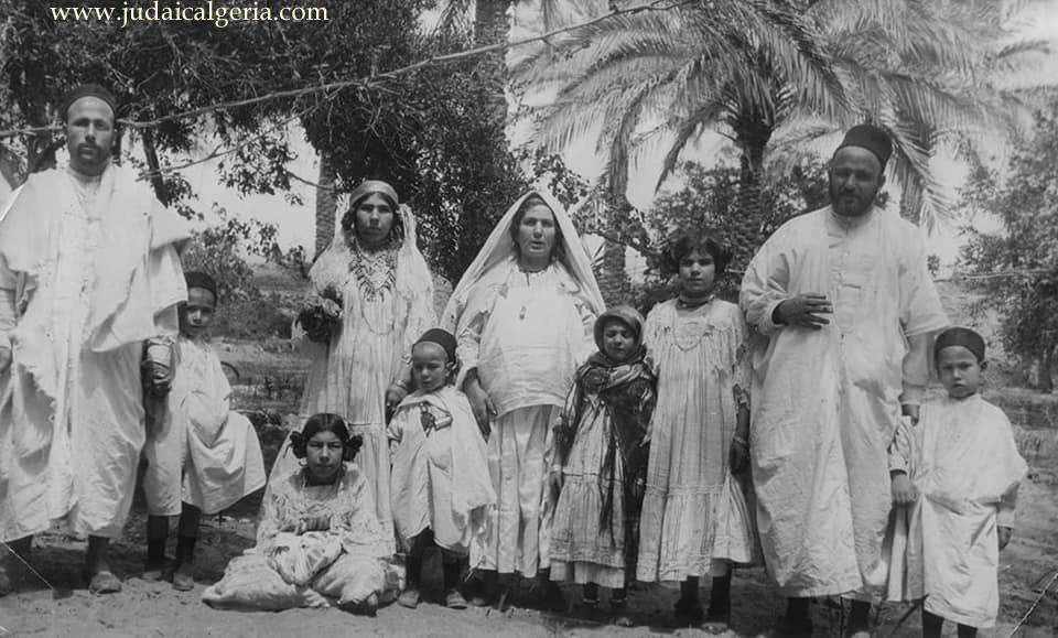 Famille juive mozabite de ghardaia annees 20 30