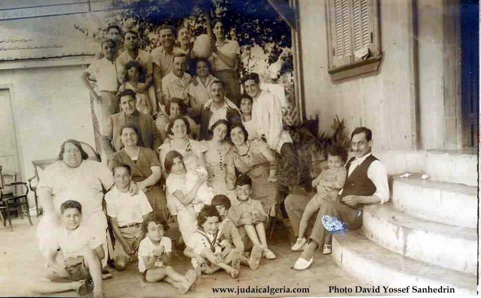 Famille sindres alger annees 1930