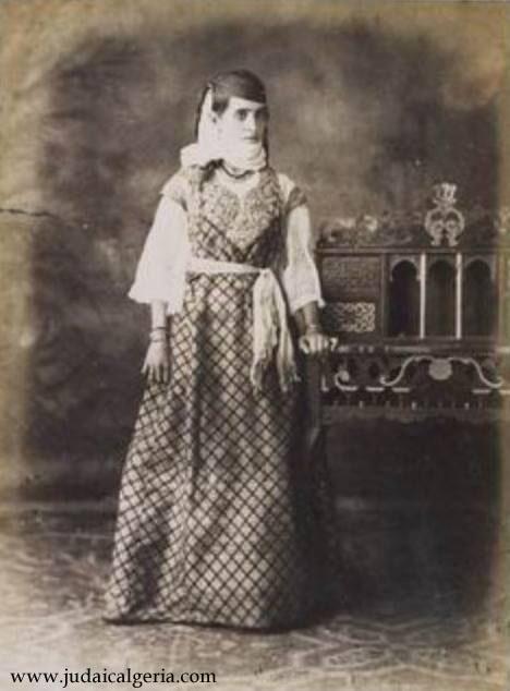 Femme juive d alger 1885